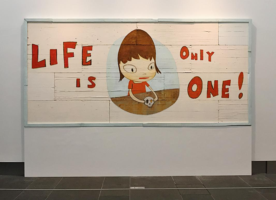 "REVIEW: Yoshitomo Nara's solo show ""Life is Only One"" at @AsiaSocietyHK Center → http://t.co/c898dPvss9 @michinara3 http://t.co/ViRCS3dfAK"