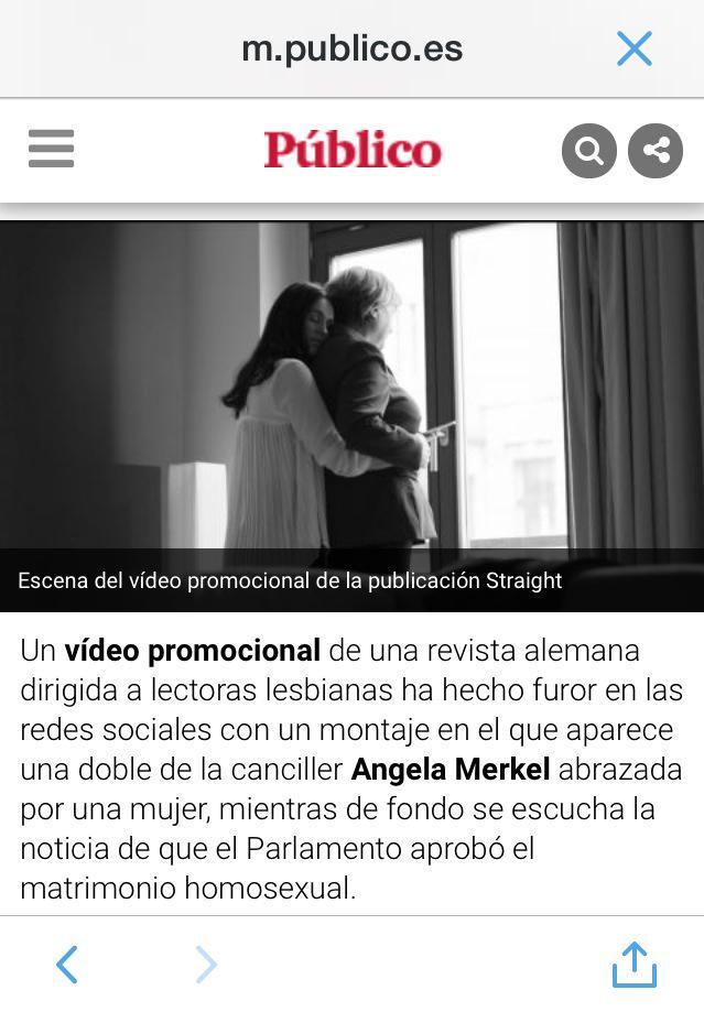 Merkel Es Ahora Lesbiana No Es Un Montaje A Favor Del Matrimonio Igualitariopic Twitter Com Kfgl7uyn4m