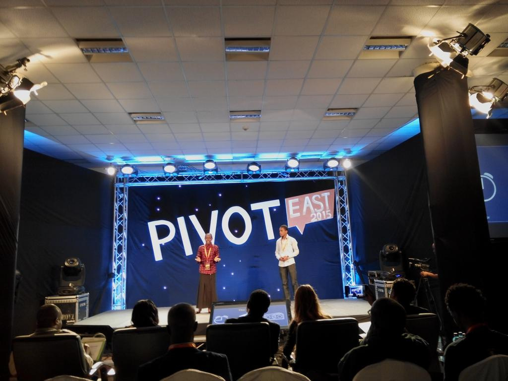 Soft Ballot founders pitching automated polling system starting with Universities.  Solution for SONU! #PivotEast2015 http://t.co/uHIvyOcZmT
