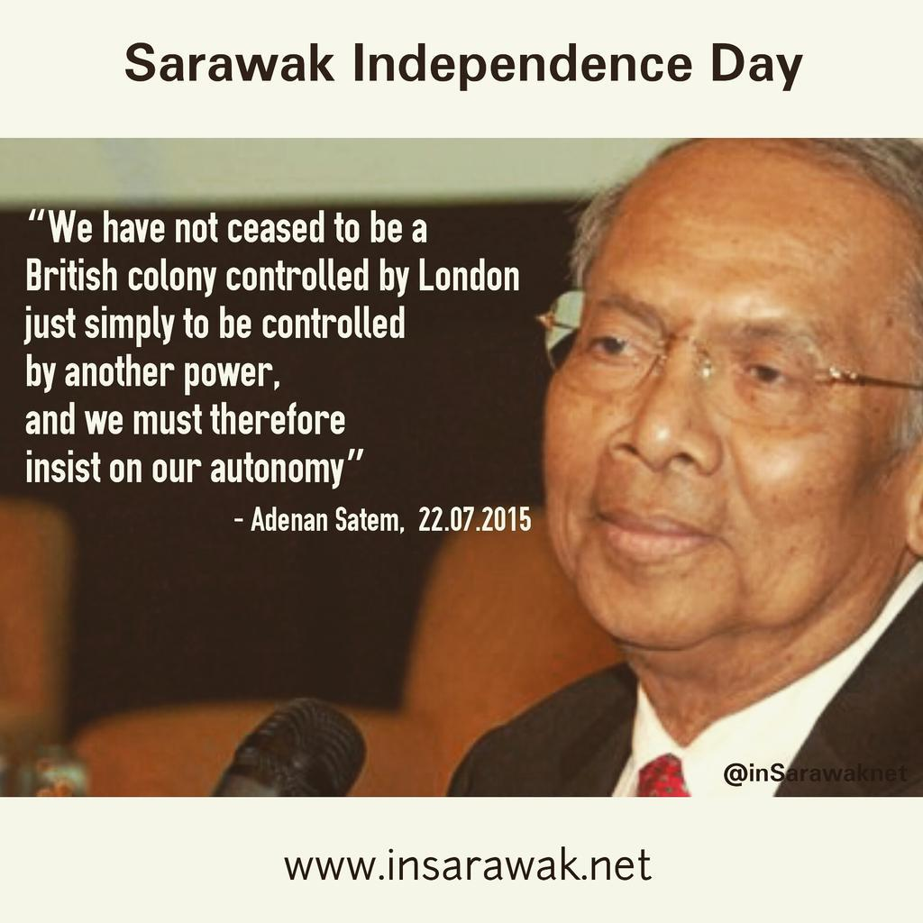 Image result for Sarawakians must remember Adenan Satem