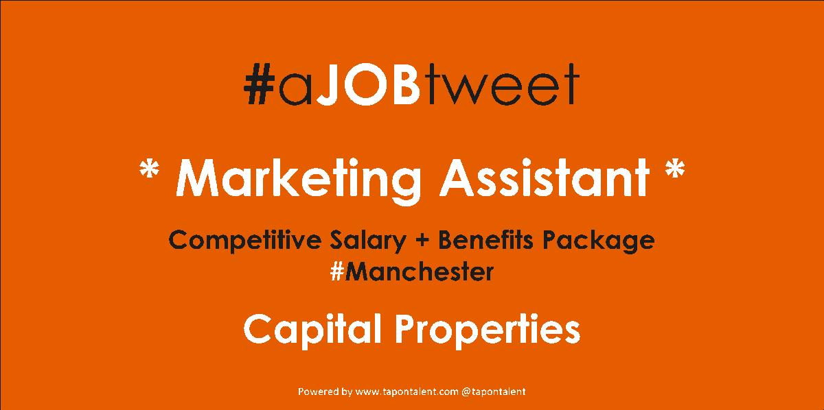 Marketing Assistant Jobs Manchester