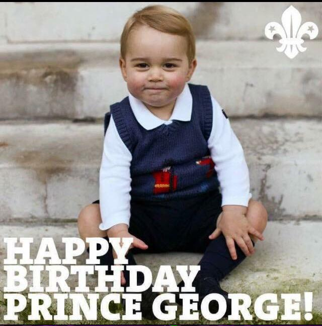 Happy #birthday #Prince #George ..our future #King #British #monarchy http://t.co/FBCtVDKUUx