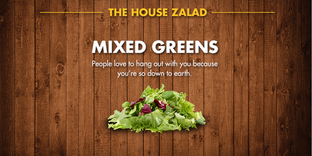 Zaxby 39 S On Twitter What Does Your Favorite House Zalad Ingredient Say About You If You Re A