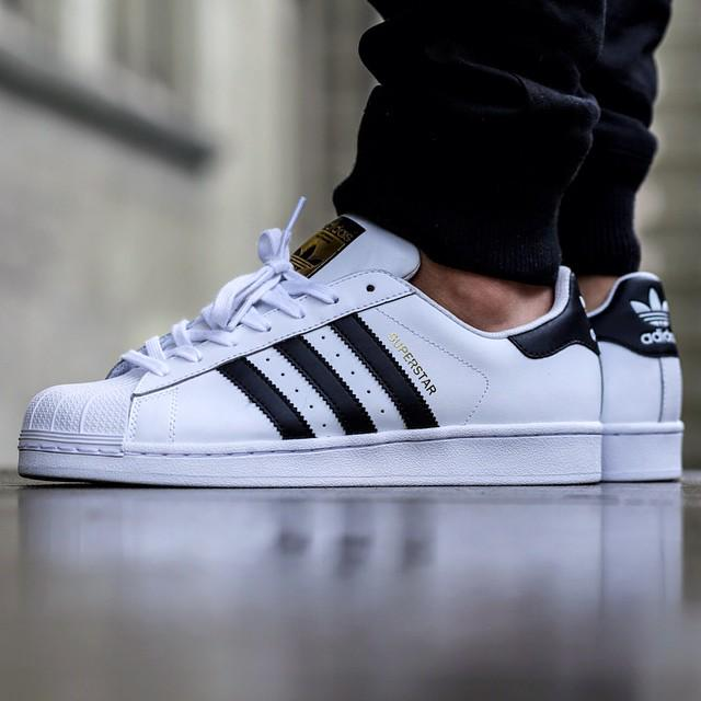 Adidas Superstar Foundation On Feet