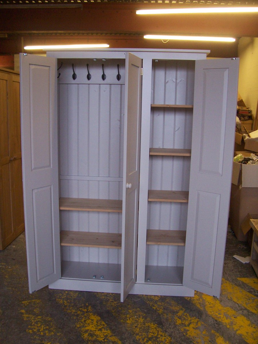 Cheshire Pine Oak On Twitter Hall Cupboards For Storage Of Coats Shoes Hats Bags Tidy Things Away With This Fab Idea Http T Co Zfp5y8dwn7