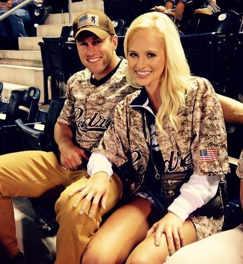 Tomi Lahren with her boyfriend | Twitter
