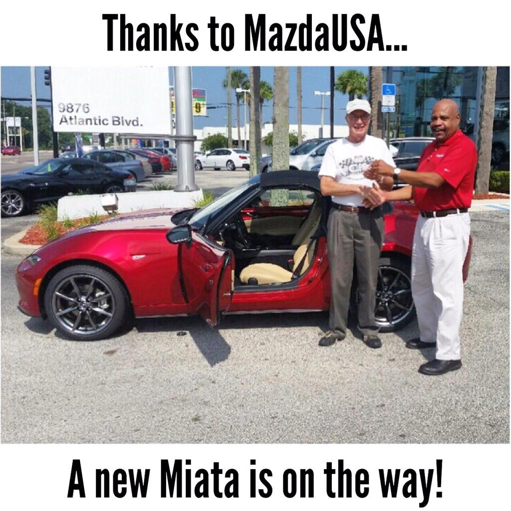 Tom Bush Mazda >> Tom Bush Mazda On Twitter Great News After Hearing About