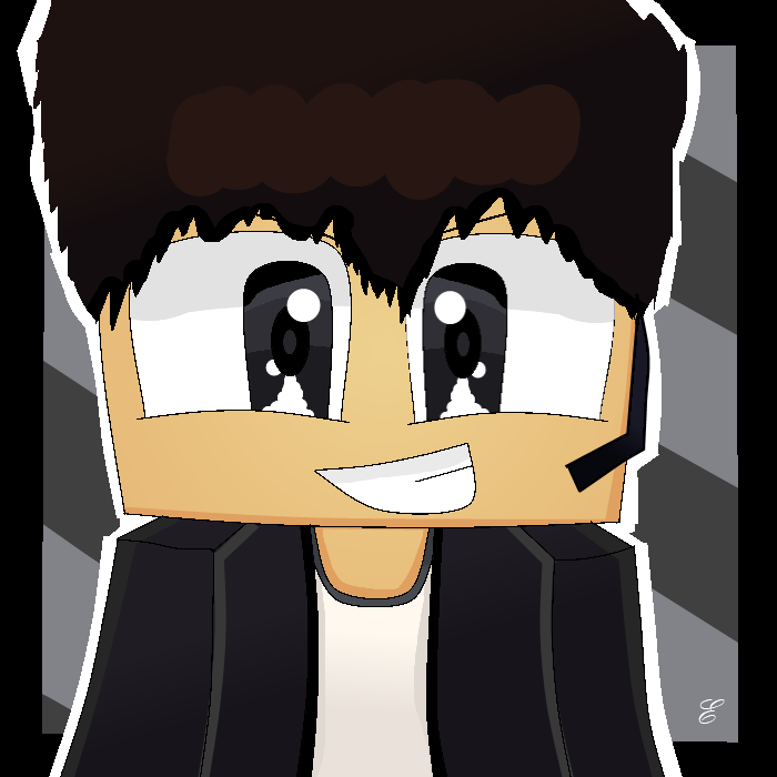 Images of Minecraft Drawn Profile Picture - #rock-cafe