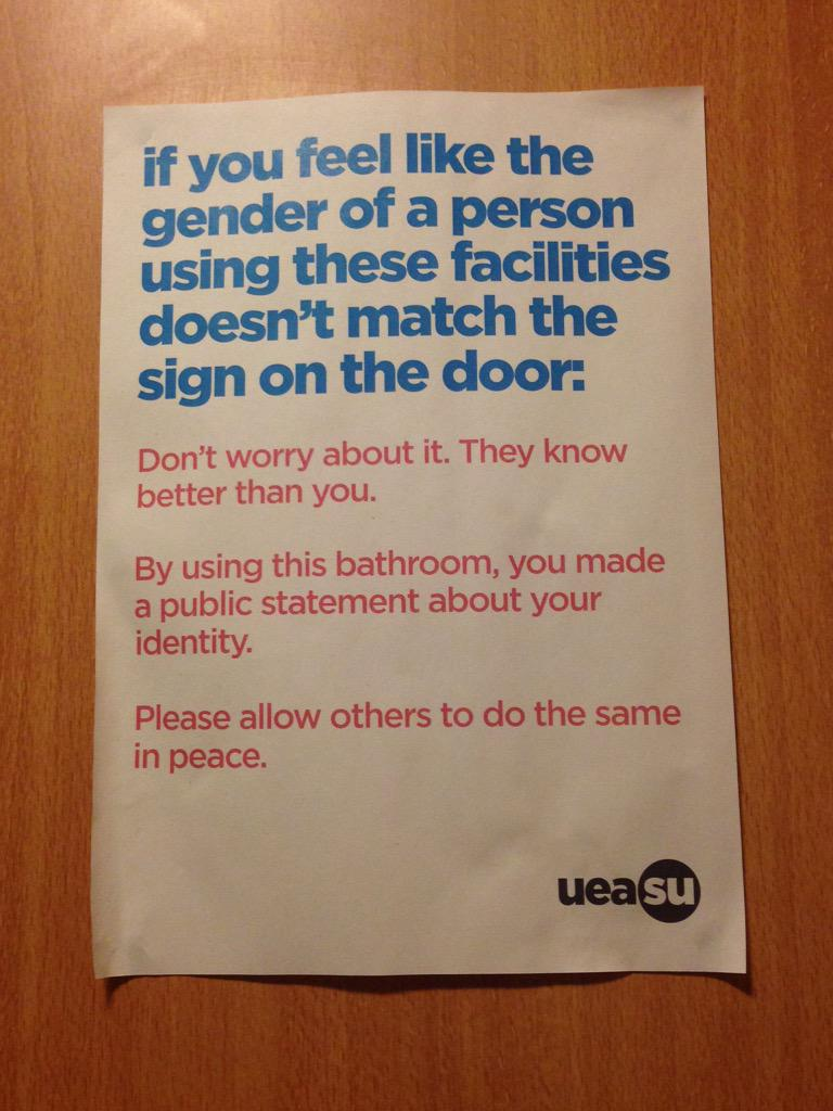 Congratulations @UnionUEA! Loving your diversity and tolerance. More like this please! http://t.co/utzlF2gFcy