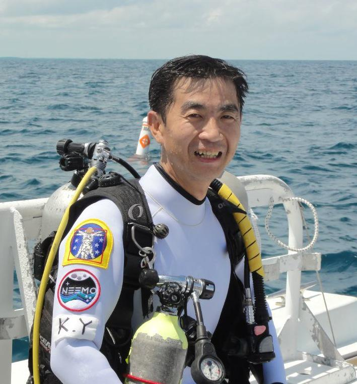 Sending our best wishes to NEEMO16 Aquanaut @Astro_Kimiya on his launch to the International Space Station today! http://t.co/5hqXcpcReX