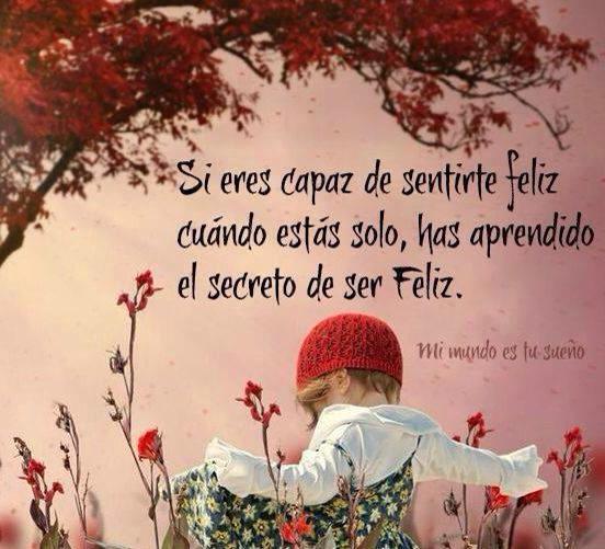 """Retos Femeninos on Twitter: """"Si eres capaz de sentirte feliz cuando estás  sola, has aprendido a ser feliz. #Mujeres http://t.co/nMUQfDN8xk  http://t.co/HDJaHHbp7S"""""""