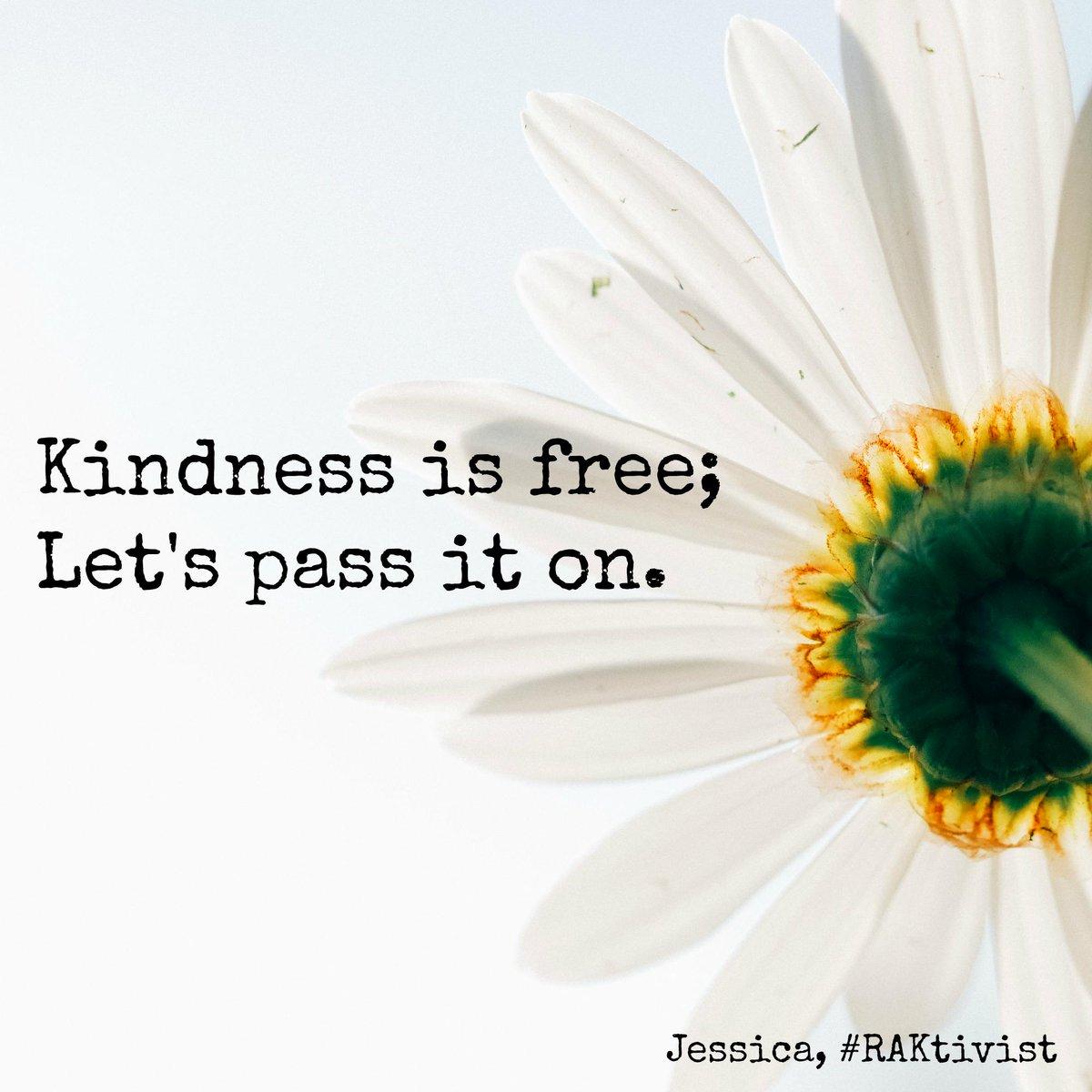 Randomactsofkindness On Twitter Kindness Is Free Let S Pass It On Raktivist Http T Co Nzymz8ivai