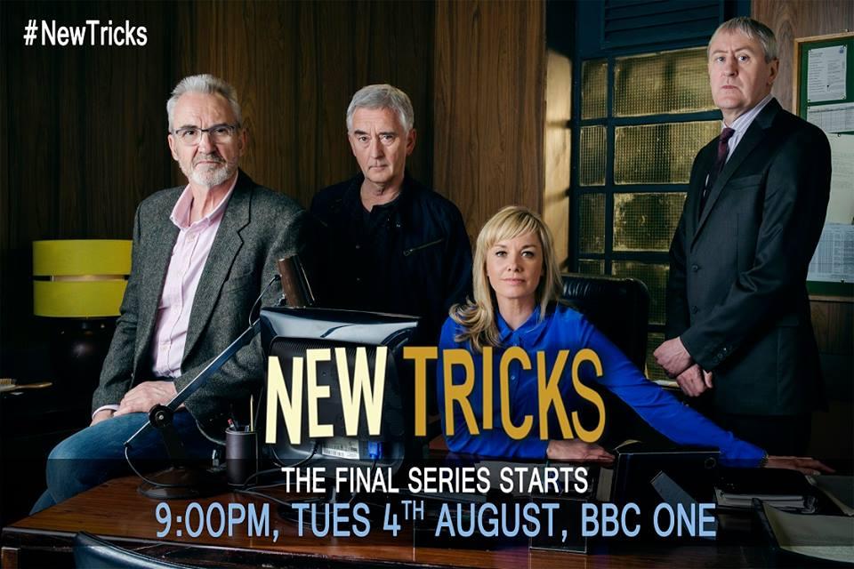 RT @NewTricksFans: 4TH AUGUST FINAL SERIES BEGINS, 9pm @BBC1 #NewTricks http://t.co/WJXQLXh6Wn