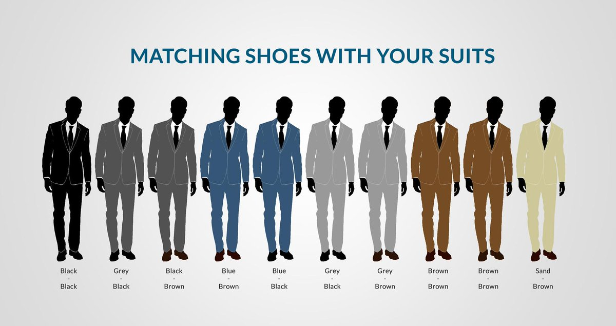 Color Matching For Mens Shoes