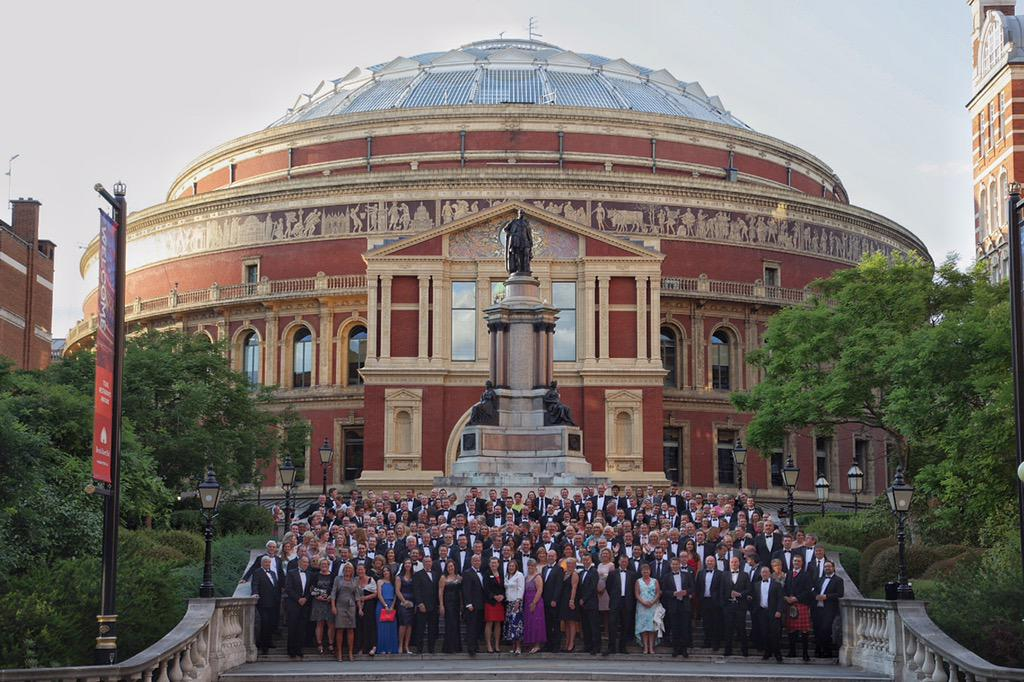 The @TUCOltd #TUCOconf all gathered outside @RoyalAlbertHall http://t.co/PWSY4bwRLO