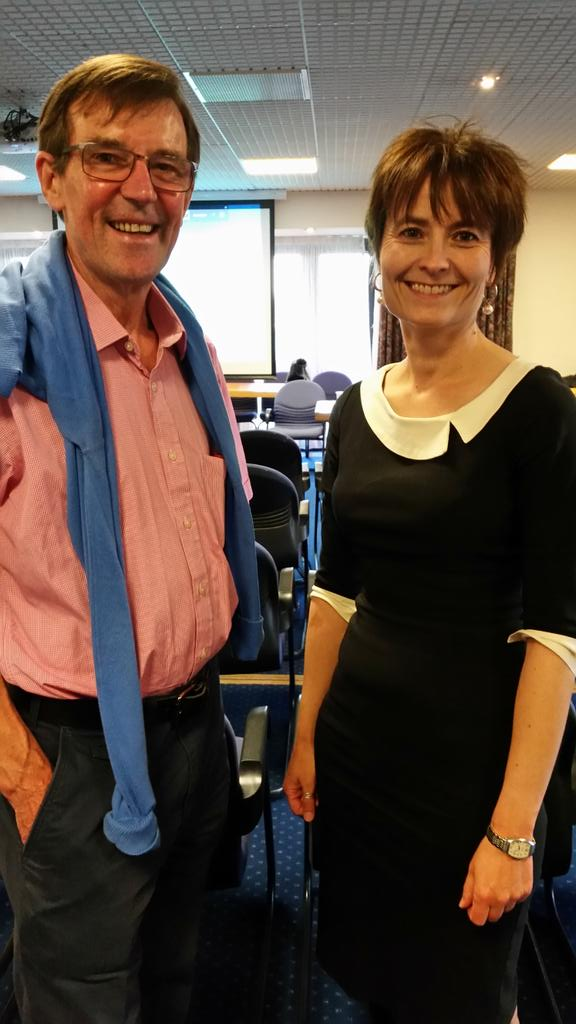 Our CEO Karen with fundraising volunteer Peter at our AGM. #CABLive http://t.co/IkQ6ouXAVu
