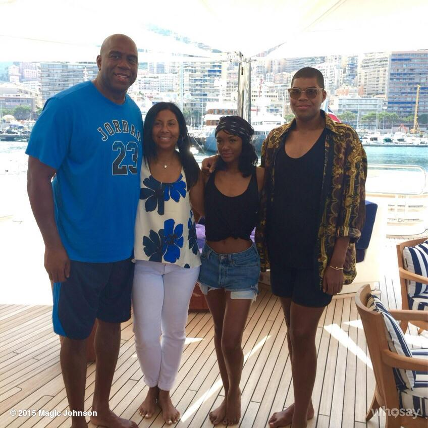 magic johnson grandchildren - photo #17