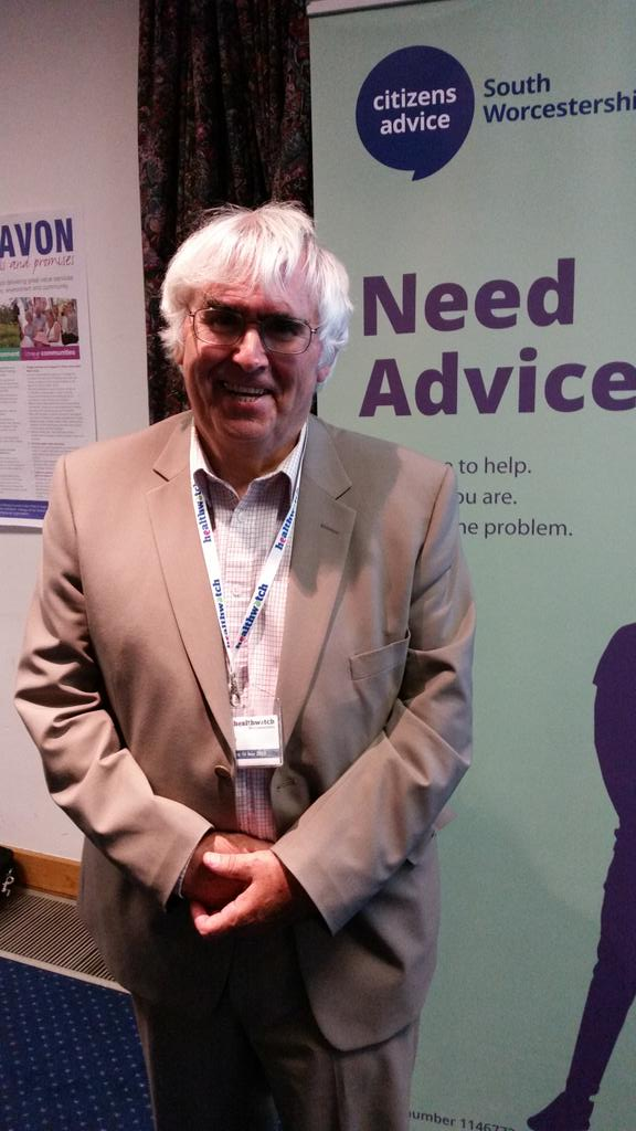 Our speaker from Healthwatch Peter Pinfield. AGM #CABLive http://t.co/8OK6cUOJun