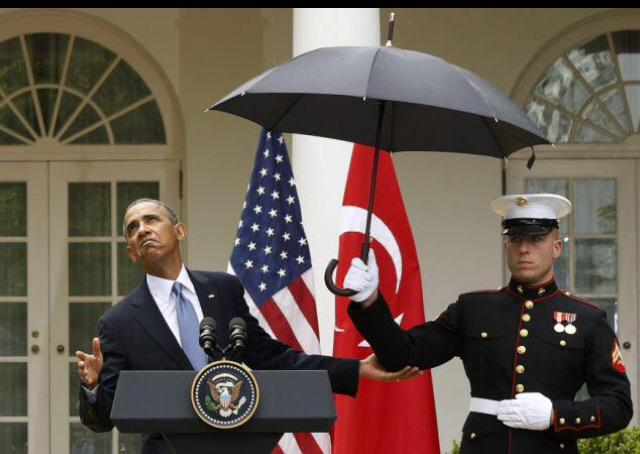 If It's OK For A #Marine To Carry An Umbrella   But It's Not OK To Carry #Guns    You Might Be  ➡️ Enabling #Jihad http://t.co/dT3t77rMxe