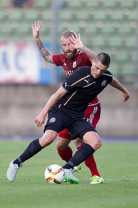 Arijan Ademi during the game