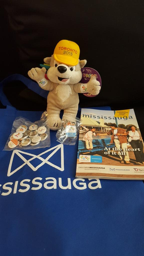 I won a #wherespachimississauga prize pack! Pin Overload! http://t.co/C9tEtKbc1x #mississaugacheers #TO2015 #PanAm http://t.co/UIqeGsIr84