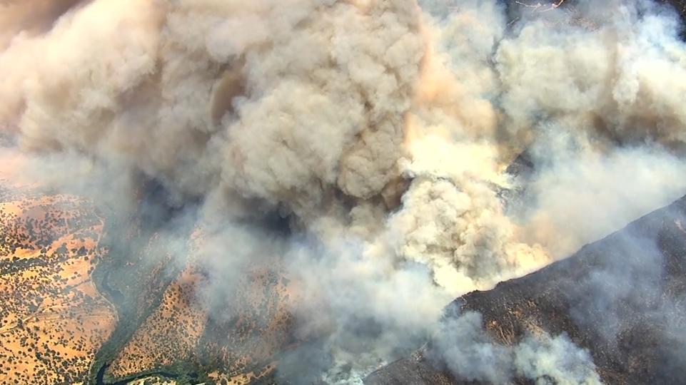 Wragg Fire, Major Vegetation Fire
