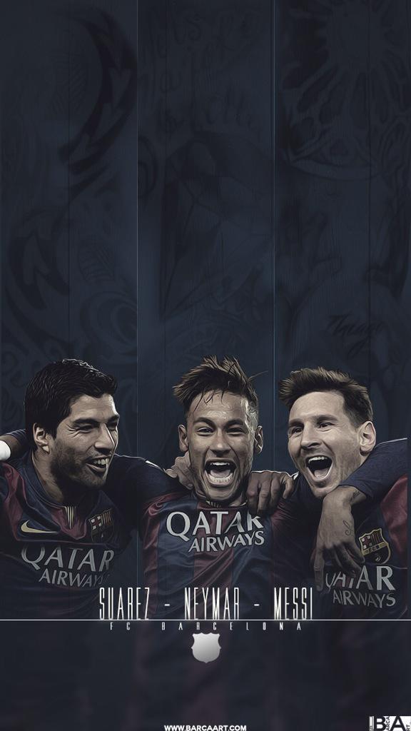 Wallpaper Suarez Neymar Messi