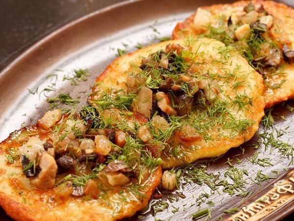Рецепт драники из картошки с сыром