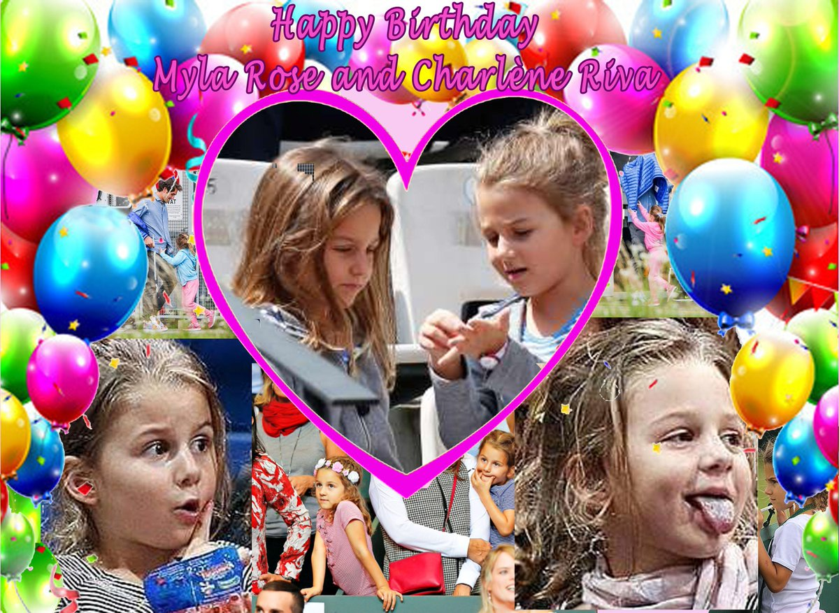 danielle on Twitter Happy Birthday Myla Rose and Charlne Riva