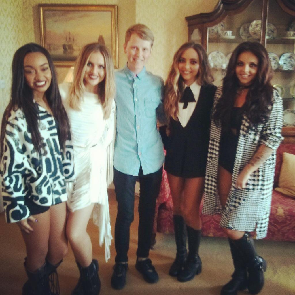 Lovely seeing @LittleMix yesterday. Fingers crossed #BlackMagic is number 1 again tomorrow! #GETWEIRD #LittleMix http://t.co/8EwSeHzU3a