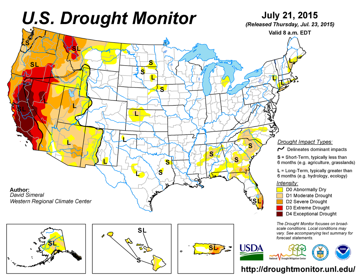 Noaa On Twitter To Access National Drought Data More State