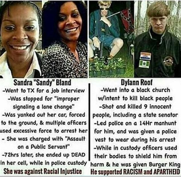 Man!!!!! The World is so cruel and corrupted! It's like right is wrong and wrong is right! #RIPSandraBland