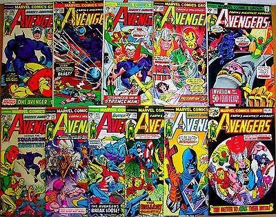 The #avengers: issues 136-146 marvel #steve englehart/george #tuska/george perez , LINK:  http://www. zeppy.io/product/us/2/3 31604237471/ &nbsp; … <br>http://pic.twitter.com/h12C5fmuL8