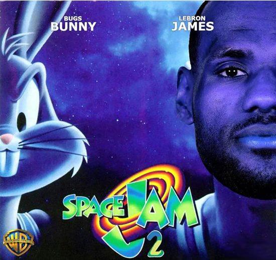 LeBron James assina contrato com a Warner e deve ser a estrela de Space Jam 2. http://t.co/7KNsHOvr8s