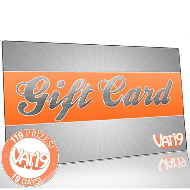 vat19 on twitter we re giving away four 25 vat19 gift cards to