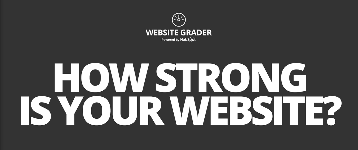Aaaaaaand we're back! Check out the new-and-improved #WebsiteGrader today: http://t.co/DnyDpLyzSm http://t.co/u0BrqcUBrS