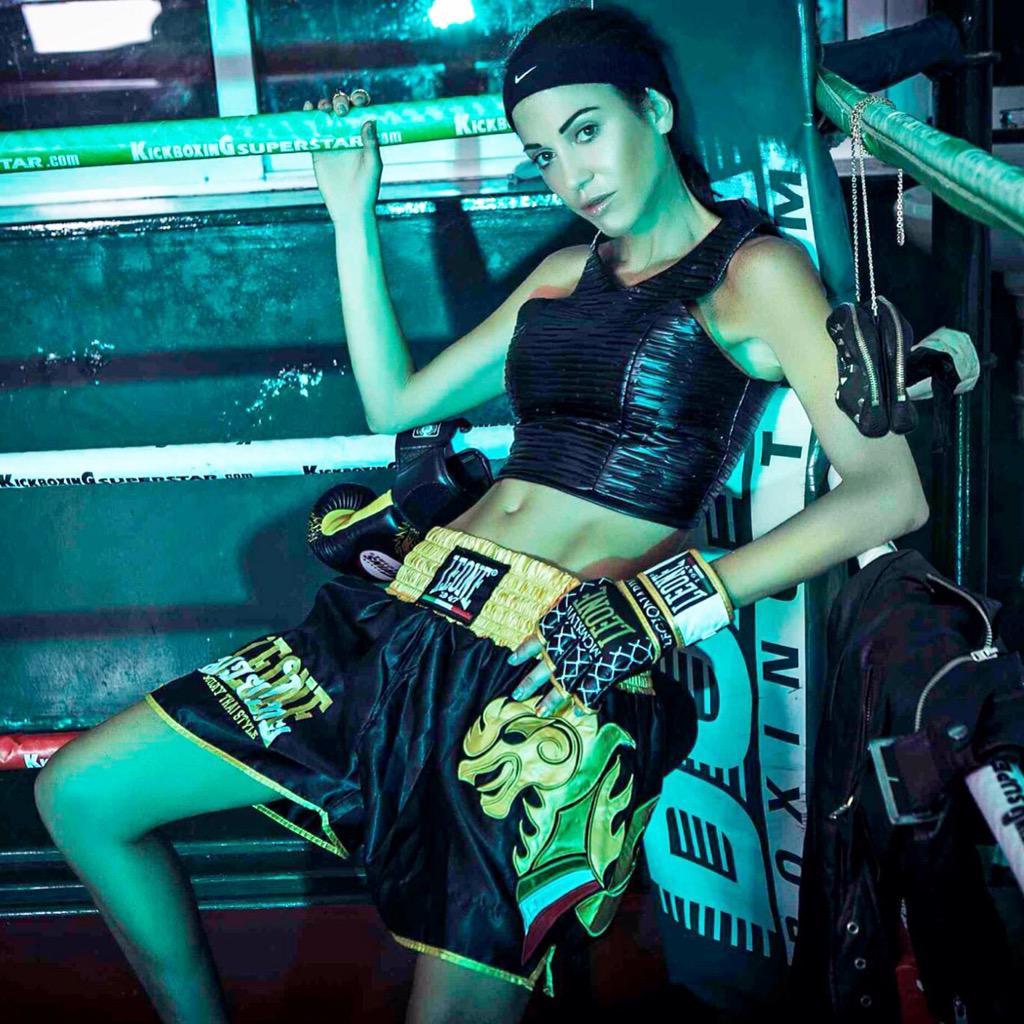 Moda e fashion anche nella boxe con Federica Torti