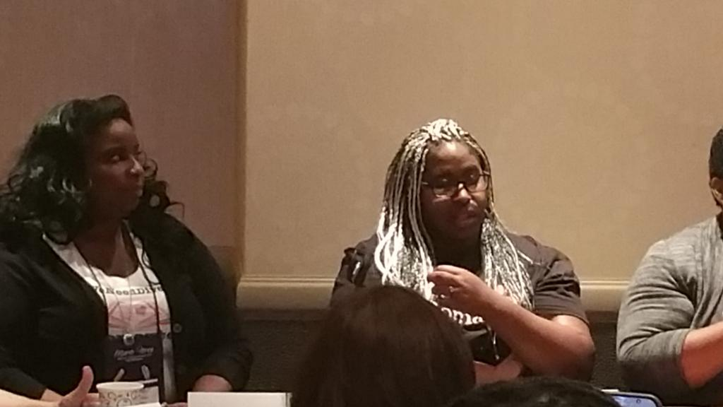 """We don't need more diverse characters we need more DIVERSE AUTHORS."" @rebekahwsm #WeNeedDiverseRomance #rwa15 http://t.co/0xijbjEi8f"