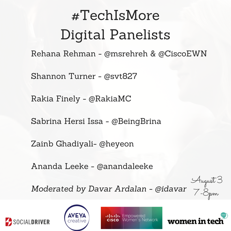 Looking forward to being part of this great #TechIsMore event line-up. #WomeninTech http://t.co/QNShC6GNFV #Tech http://t.co/QWFgfRCCOR