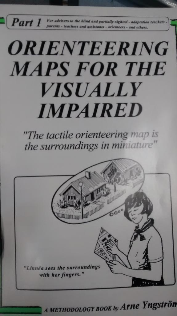 picture of Orienteering maps for the visually impaired