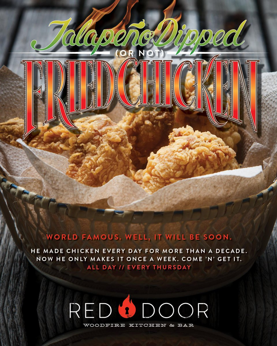 Red Door Grill On Twitter Its Here Jalapeo Dipped Or Not
