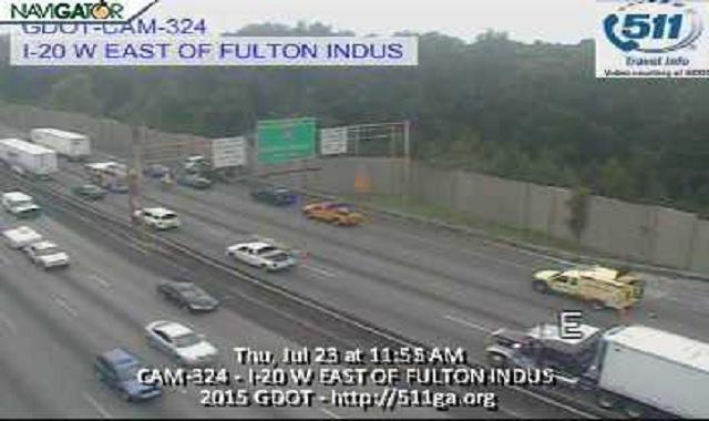 Fatal Fulton Industrial Blvd : TRAFFIC ALERT Fatal accident EB