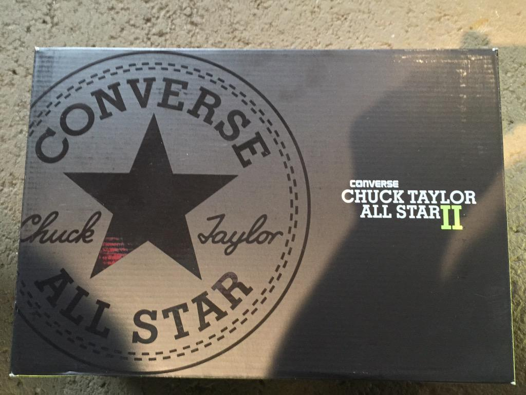 4178d83b2c88 The packaging for the brand new converse chuck taylor all star 2  converse