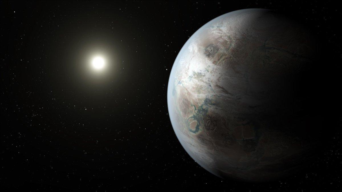 Meet Kepler 452b, the most Earthy planet @NASAKepler has spotted so far. http://t.co/Zq8D0HUt3r http://t.co/zAw6m1h7yW