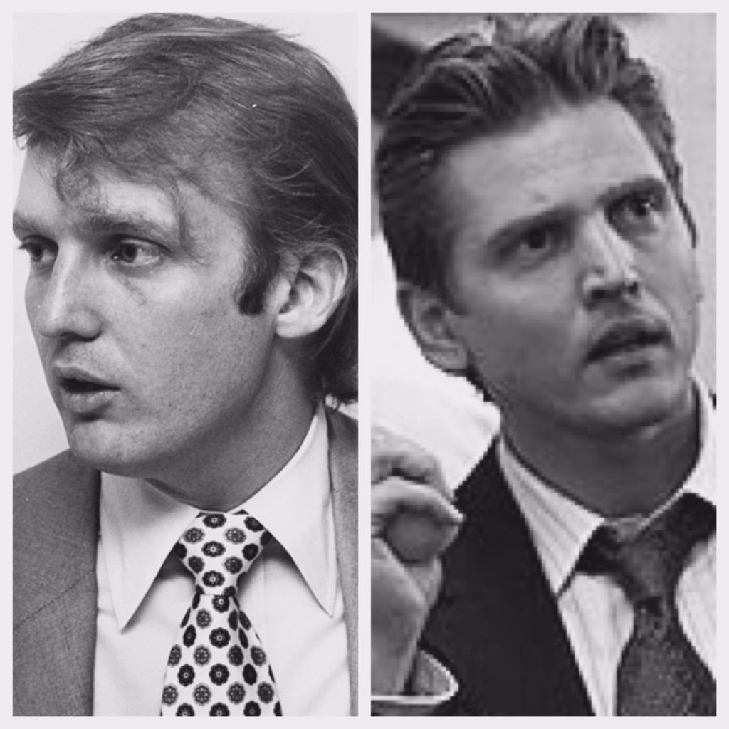 "Richard Roeper on Twitter: ""Young Trump reminds me of actor Barry ..."