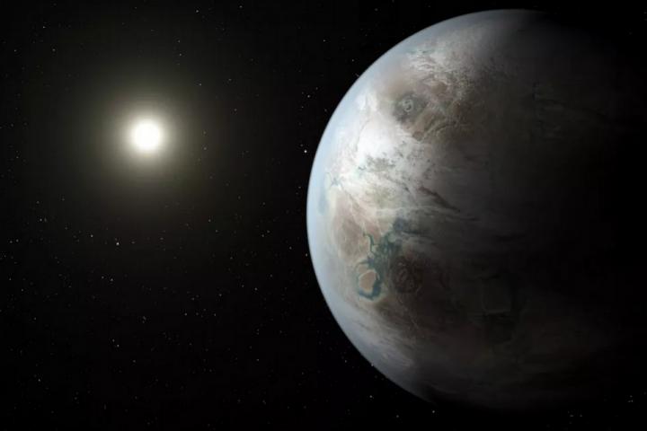 La NASA annonce la découverte de Kepler 452b, une exoplanète semblable à la Terre http://t.co/Y3pTlukZTl