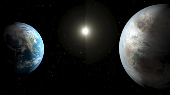 Com telescópio Kepler, Nasa descobre planeta parecido com a Terra http://t.co/fRzjVamGzX