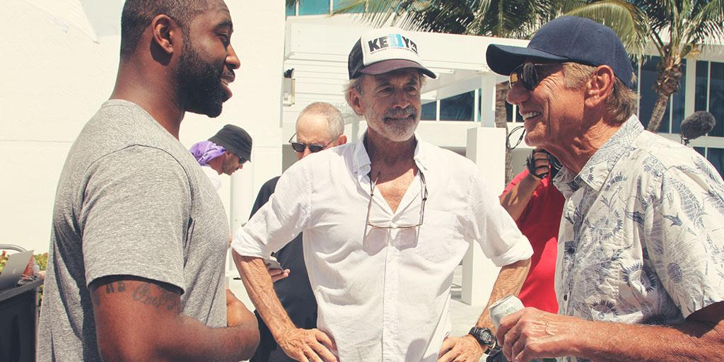 Three legends. From left to right: @Revis24, reowned photographer Walter Iooss, @RealJoeNamath http://t.co/91Pc376FBO http://t.co/Xuw0aF4CwO