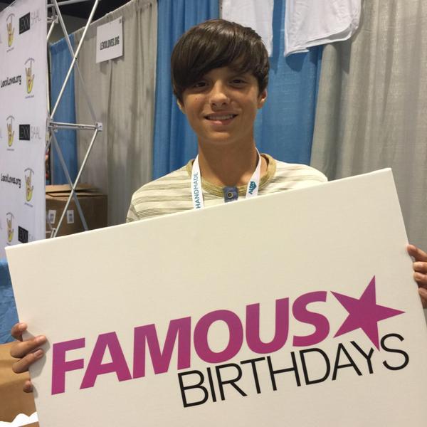 Famous Birthdays on Twitter: