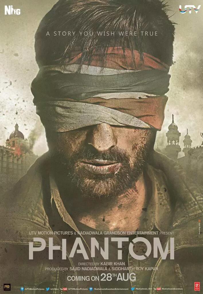 Phantom (2015) Movie Poster No. 2